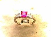 Lds Cubic Zirconia Fashion Ring #555