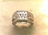 Lds Cubic Zirconia Fashion Ring #577