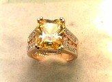 Lds Cubic Zirconia Fashion Ring #578