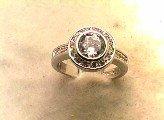Lds Cubic Zirconia Fashion Ring #583