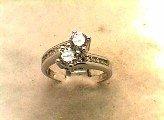Lds Cubic Zirconia Fashion Ring #585