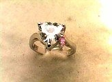 Lds Cubic Zirconia Fashion Ring #592