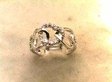 Lds Cubic Zirconia Fashion Ring #593