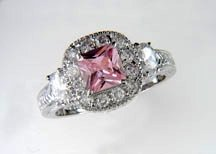 Lds Cubic Zirconia Fashion Ring #611