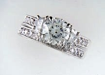 Lds Cubic Zirconia Fashion Ring #615