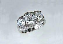 Lds Cubic Zirconia Fashion Ring #618