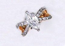 Lds Cubic Zirconia Fashion Ring #619