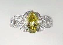 Lds Cubic Zirconia Fashion Ring #629