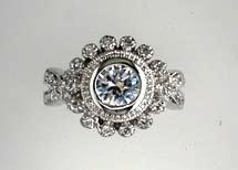 Lds Cubic Zirconia Fashion Ring #635