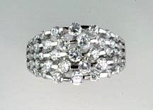Lds Cubic Zirconia Fashion Ring #637