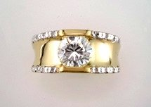 Lds Cubic Zirconia Fashion Ring #649