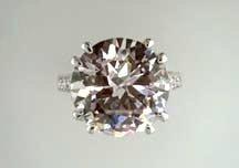 Lds Cubic Zirconia Fashion Ring #660