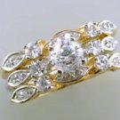 Lds Cubic Zirconia Fashion Ring #678