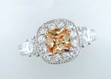 Lds Cubic Zirconia Fashion Ring #689