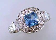Lds Cubic Zirconia Fashion Ring #691