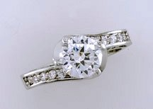 Lds Cubic Zirconia Fashion Ring #699