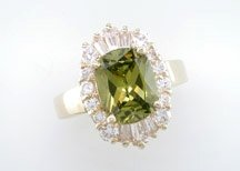 Lds Cubic Zirconia Fashion Ring #700