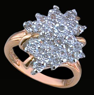 Lds Cubic Zirconia Fashion Ring #1526