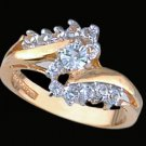 Lds Cubic Zirconia Fashion Ring #1532