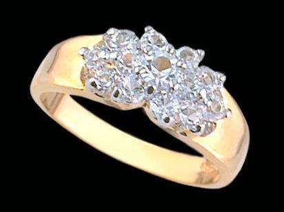 Lds Cubic Zirconia Fashion Ring #1617