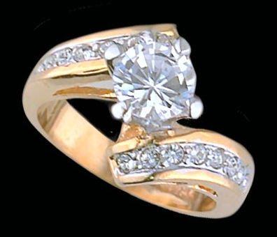 Lds Cubic Zirconia Fashion Ring #1661