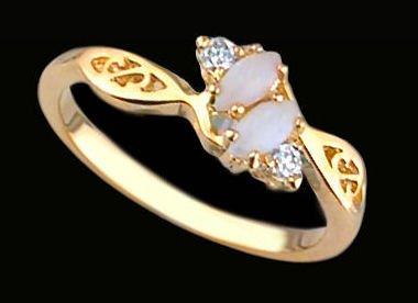 Lds Cubic Zirconia Fashion Ring #1737