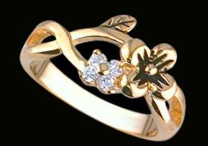 Lds Cubic Zirconia Fashion Ring #1742