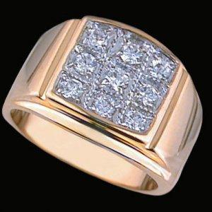 Gentleman's Fashion Ring #2245