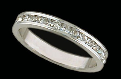 Lds Sterling Silver Ring #4012