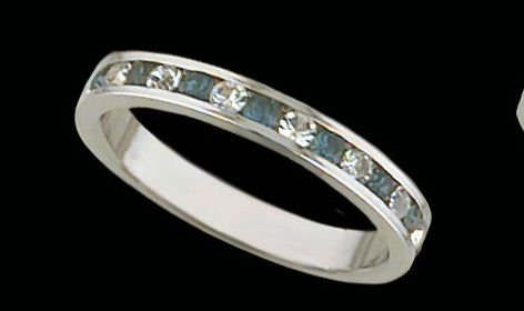 Lds Sterling Silver Ring #4014