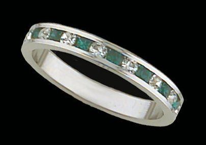 Lds Sterling Silver Ring #4015