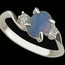 Lds Sterling Silver Ring #4175