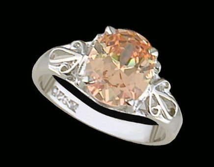 Lds Sterling Silver Ring #4195