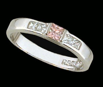 Lds Sterling Silver Ring #4203