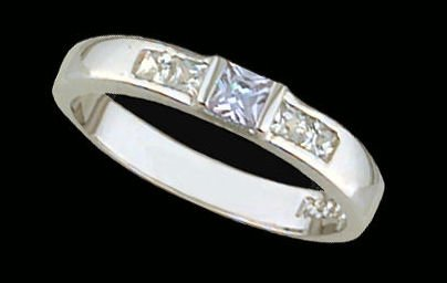 Lds Sterling Silver Ring #4213