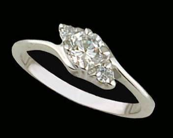 Lds Sterling Silver Ring #4217