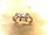 Lds Sterling Silver Ring #4402