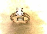 Lds Sterling Silver Ring #4406