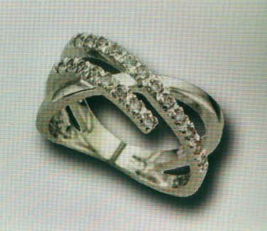 Lds Cubic Zirconia Fashion Ring #715