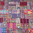 Rose/ Mixed pastelsHuipile Guatemalan Patchwork  king size