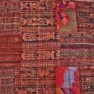 Huipile Guatemalan Patchwork Quilt Huipile Guatemalan Patchwork Quilt     Queen size