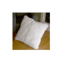 "32"" Bowron Longwool Floor Pillow"