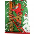 Nordic Santa Hanging Birdhouse-LML-Printed Fabric Banner 13 x 20 Inch