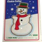 Fox Run Snowman Cookie Cutter 7-1/2 Inches