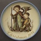 Hummel Schmid 1974 Christmas Plate - Guardian Angel-BOX ONLY