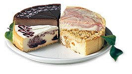 Gourmet Fruit Sampler Cheesecake