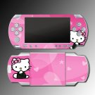 PINK KITTY cute flower heart game SKIN #4 for Sony PSP