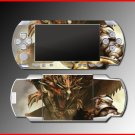 Monster Hunter Freedom game SKIN #1 for Sony PSP