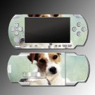 Jack Russell Terrier dog puppy COVER SKIN 2 Sony PSP