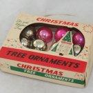 1950s,60s Pkg Miniature Glass Balls-OP-Japan